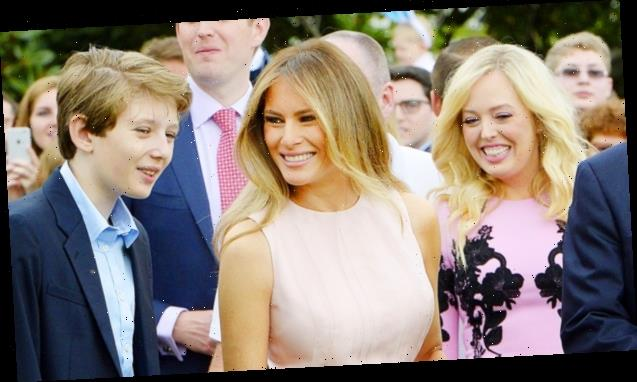 Melania & Tiffany Trump Post Sweet Birthday Messages To Barron As He Turns 15