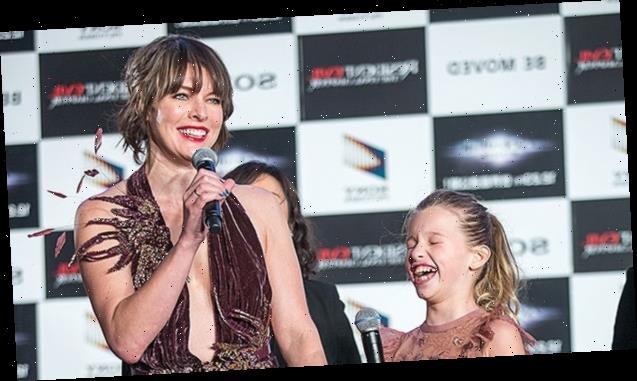 Milla Jovovich & Daughter Ever, 13, Troll Each Other As They 'Switch Places' In Hilarious TikTok — Watch