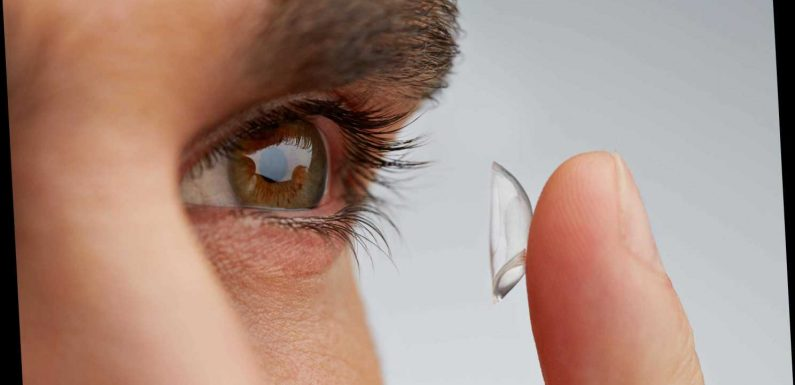 Wearing contact lenses in the shower could make you go blind, doctors warn