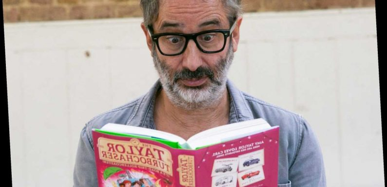 How old is David Baddiel and what books has he written? – The Sun