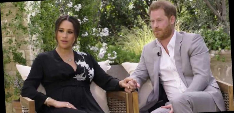 The secret meaning behind Meghan Markle's 'resurrection' dress she wore to Oprah Winfrey interview