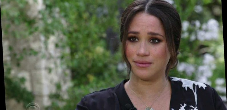 Meghan Markle breaks down in tears & says she told Harry she 'didn't want to be alive anymore' and had suicidal thoughts