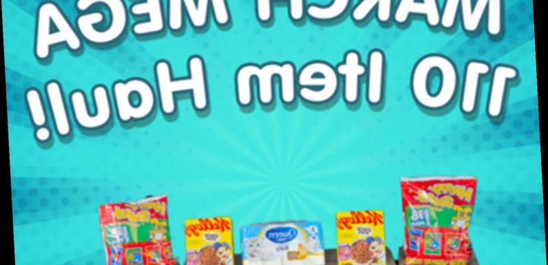 Mums are going wild for mega haul boxes that deliver 110 food items for just £30