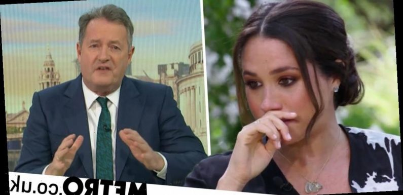 ITV responds to mental health charity over Piers Morgan's Meghan Markle attack