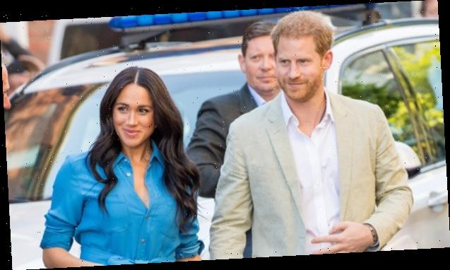 Prince Harry & Meghan Markle Drive Themselves Around Santa Barbara After 1st Look At Oprah Interview