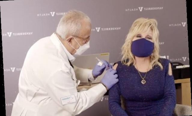 Watch as COVID Vaccine Funder Dolly Parton 'Gets a Dose of Her Own Medicine' (Video)