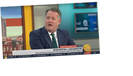 Piers Morgan Slammed By Mental Health Charity After He Dismissed Meghan Markle's Suicidal Thoughts