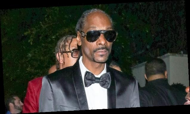Snoop Dogg Shows Off Grey Hair As He Shares A Photo From 'Late Night' Studio Session