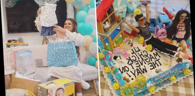 Inside Vanderpump Rules alum Brittany Cartwright's over-the-top baby shower with cake, candy & massive cheese spread