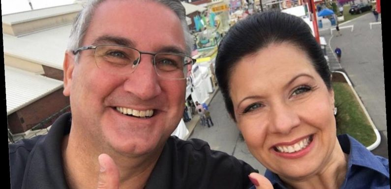 Who is Indiana Governor Eric Holcomb's wife Janet?