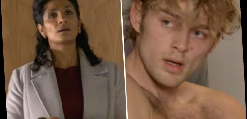 EastEnders shock as Suki catches half-naked Peter with her daughter Ash – just weeks after bedding him herself