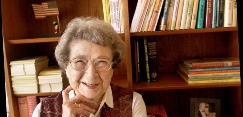 Beverly Cleary, author of children's book 'Henry Huggins,' dead at 104