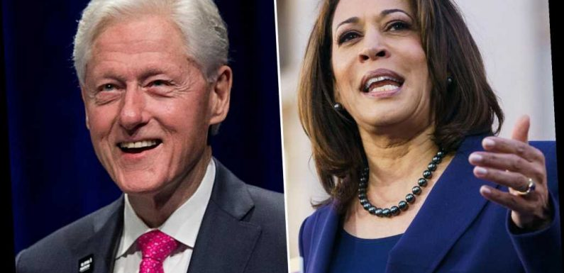Kamala Harris slammed for decision to appear with Bill Clinton at women's event