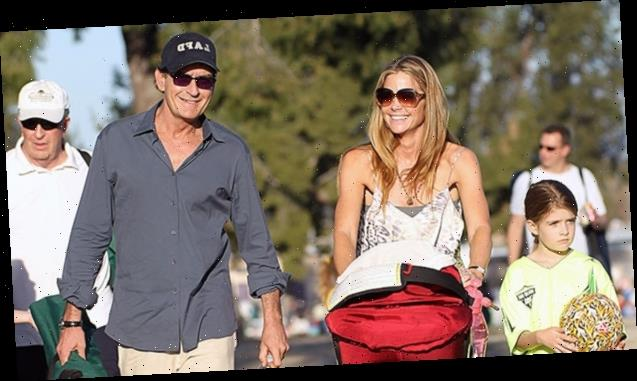 Denise Richards & Charlie Sheen Reunite With Their 2 Daughters To Celebrate Sami's 17th Birthday