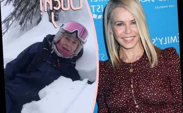 Chelsea Handler Injured After Scary Skiing Accident!!