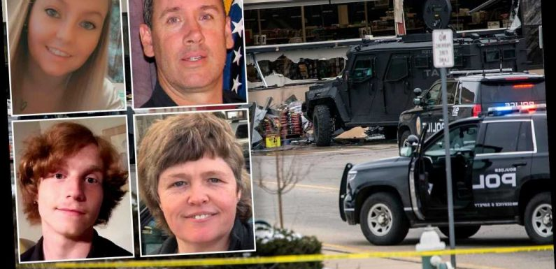 Colorado grocery store shooting victims identified
