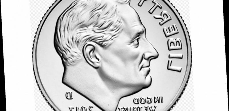 Which President is on the dime?