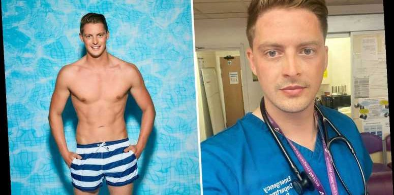 Love Island's Dr Alex George joins OnlyFans but is giving away his posts for free