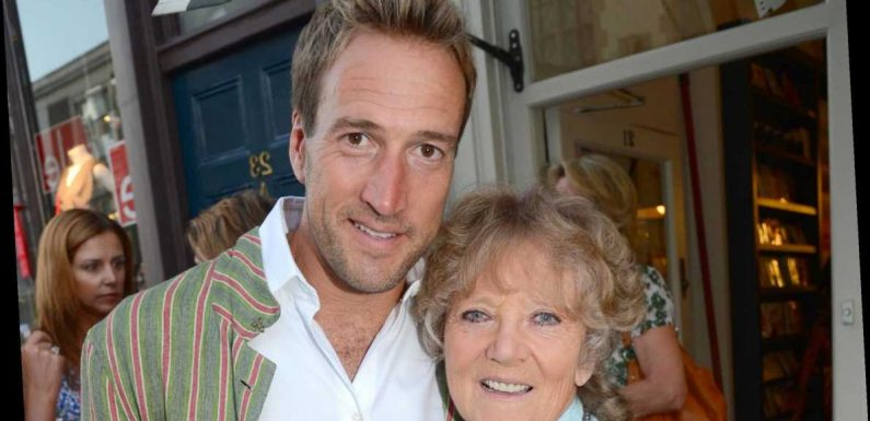 Who is Ben Fogle's mother Julia Foster?