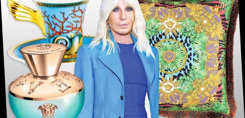 Donatella Versace shares her splurges for spring