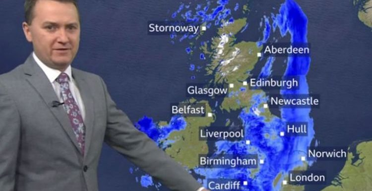 BBC Weather: Severe gales and 80mph winds to batter Britain 'Be prepared!'