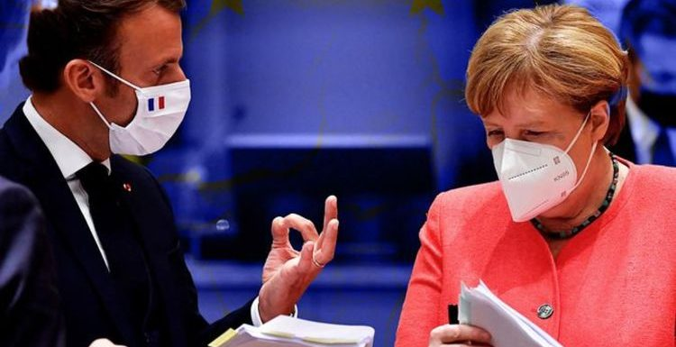 EU unity crumbling: Germany turns on France as Merkel set to class neighbours 'high risk'