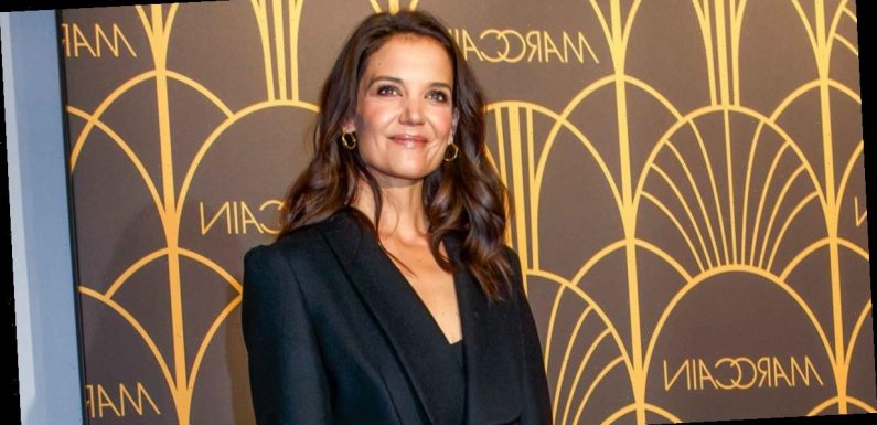 Rock Wide Leg Jeans the Katie Holmes Way — And for Just $38