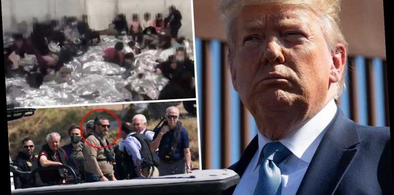 Trump may visit border soon after Ted Cruz revealed pics of migrant kids in 'Biden's cages'