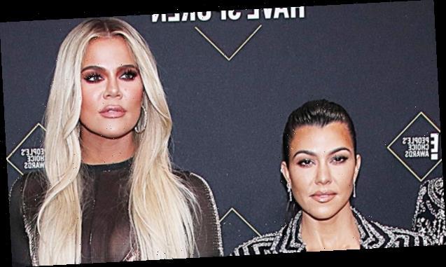 Khloe Kardashian Calls Sister Kourtney A B-Word For Stealing Skims Shapewear Pics