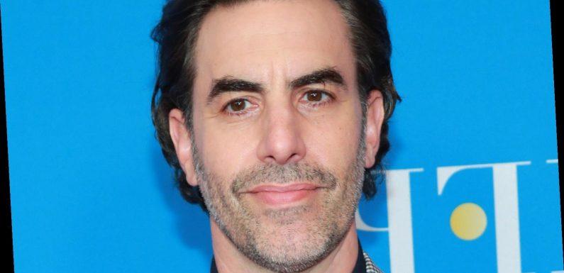 Sacha Baron Cohen's Acceptance Speech For 'Borat' Is Turning Heads