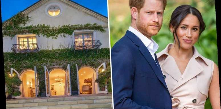 You can live next door to Prince Harry and Meghan Markle's Montecito mansion for $22million