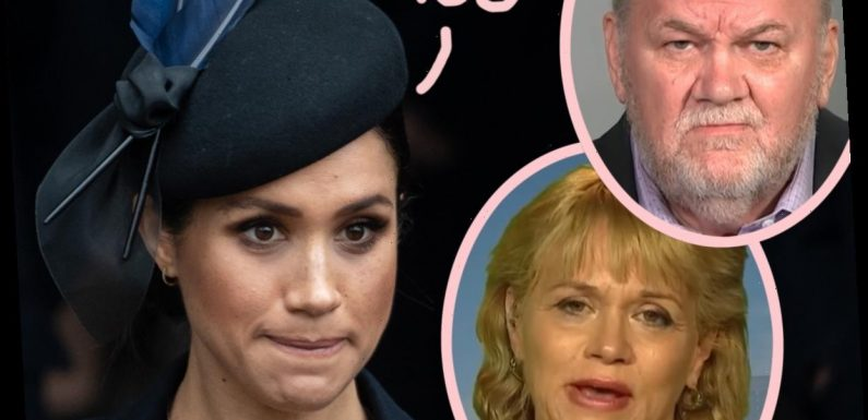 Meghan Markle Opens Up About Her Estranged Father & Half-Sister's Supposed 'Tell-All' Book In New Oprah Clips