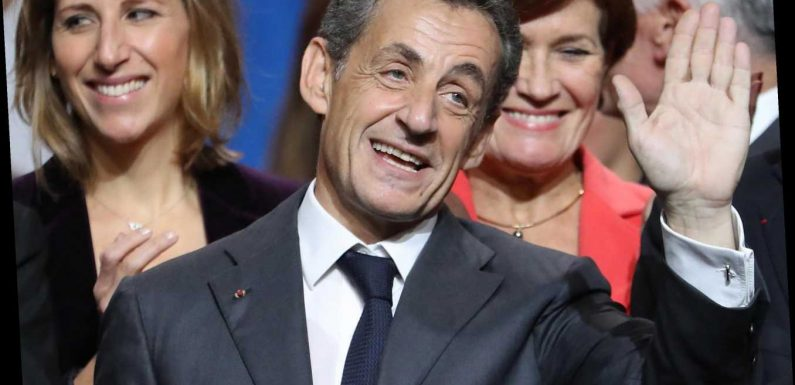 Why has former French President Nicolas Sarkozy been sentenced to prison?
