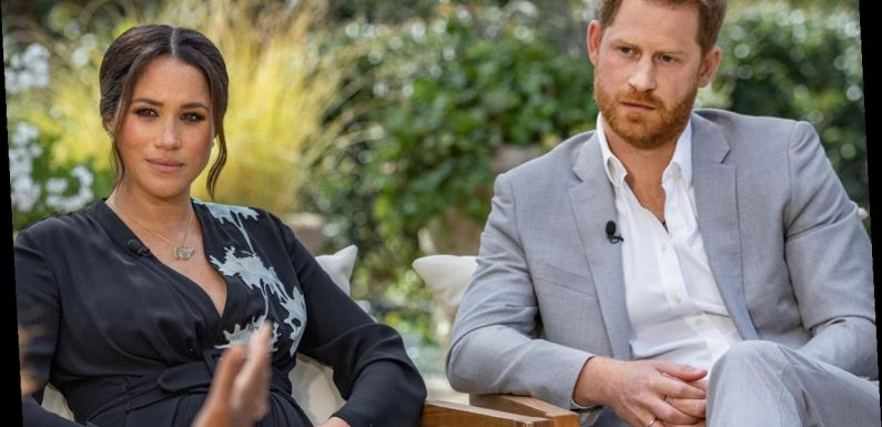Prince Harry claims royal family encouraged Meghan Markle to continue acting career over 'financial fears' in bombshell interview
