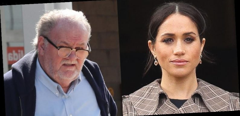 Meghan Markle's Dad Thomas Reacts to Member of Royal Family Commenting on Archie's Skin Tone