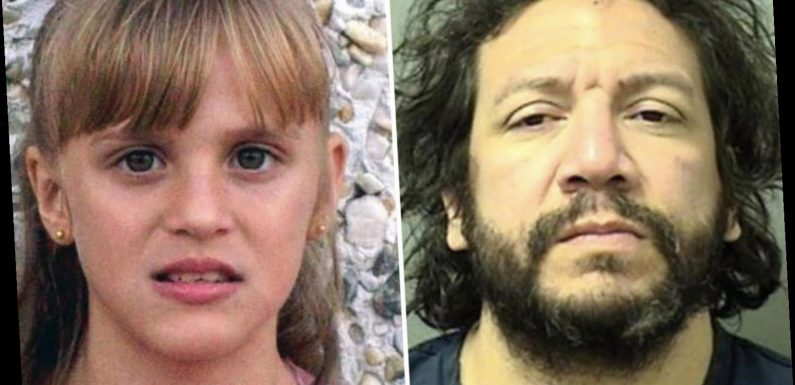 'Murderer' Jorge Barahona who 'beat disabled daughter, 10, to death & melted body in acid' is attacked by inmates