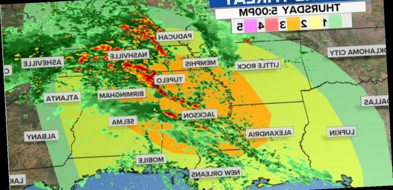 Another major tornado outbreak takes aim at the Southeast this week