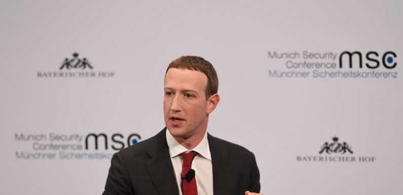 Facebook's Zuckerberg lays out steps to reform internet rules