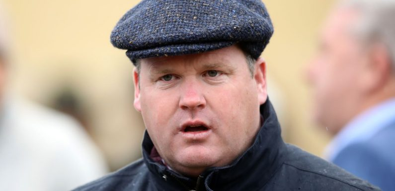 Trainer Gordon Elliott apologises 'profoundly' for photo of him sitting on top of dead horse