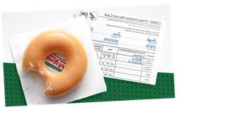 Krispy Kreme Giving Vaccinated Customers a Free Doughnut Every Day