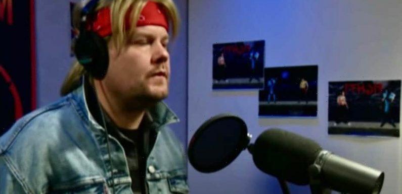 '90s James Corden Did the Worst 'Mortal Kombat' Theme Song VO (Video)