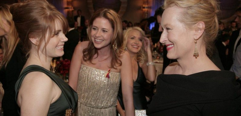 'The Office': Jenna Fischer and Angela Kinsey Hatched a Plan to Meet Meryl Streep and It (Sort of) Worked