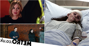 41 new Corrie images reveal teen death trauma, violent assault, missing resident