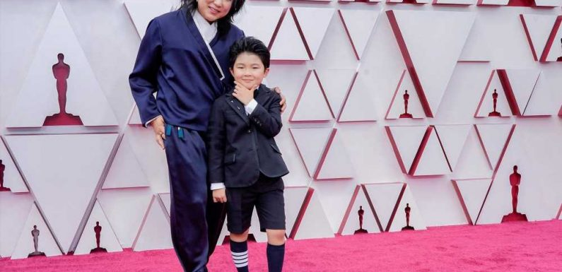 'Minari' star Alan Kim suits up in Thom Browne shorts at Oscars 2021