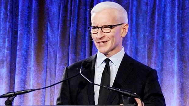 Anderson Cooper's Son Wyatt, 11 Mos., Looks Mesmerized Watching Him Guest Host 'Jeopardy'