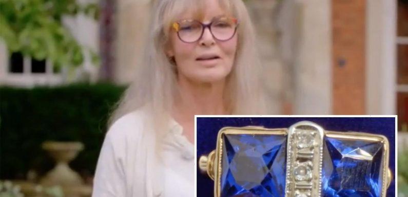 Antiques Roadshow guest horrified as expert reveals bleak truth behind sapphire ring