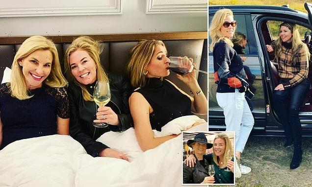 Autumn Phillips partying with friends after split from Peter