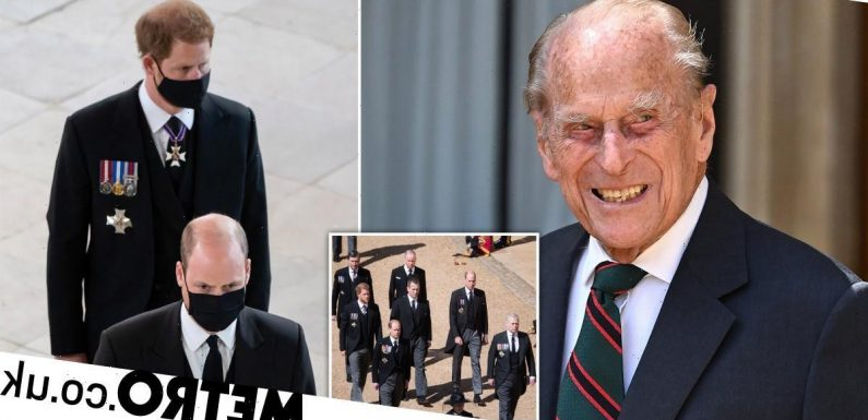 BBC hit with complaints on William and Harry analysis at Prince Philip's funeral