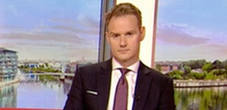 BBC's Dan Walker exclaims 'how dare you' after being shut down by Carol Kirkwood