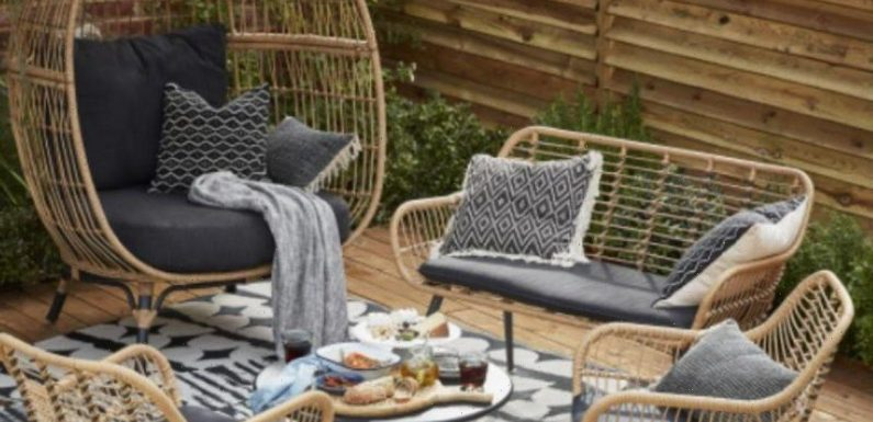 B&Q launch new garden range that includes must-have rattan egg chair